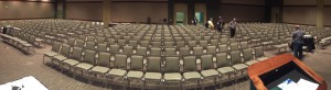Our session room at Summit